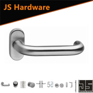 European Type China Factory Oval Door Handle for Wooden Door