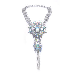 Fashion Metal Alloy Colorful Glittering Rhinestone Diamond Crystal Anklet Jewelry pictures & photos