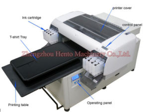 China Supplier Of Multicolor Clothes Printing Machine For Sale pictures & photos