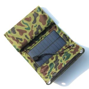5.5V 7W Portable Sunpower Folding Panel Solar Charger pictures & photos