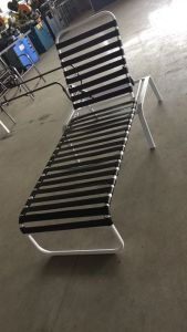 Well Furnir WF-17029 Strap Without Armrest High Chaise Lounge pictures & photos