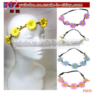 Flower Scruchies Elastic Hair Jewelry Hair Weaving Party Items (P3041) pictures & photos