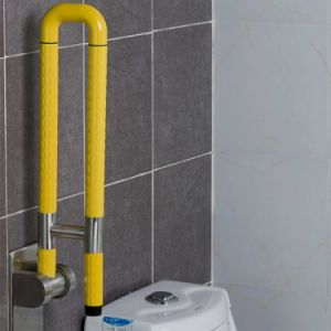Safety Handrail U-Shaped ABS Nylon Folding up Grab Bars pictures & photos