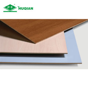 Cheap 2.5mm Melamine Hardboard Sheets for Furniture and Decoration Usage pictures & photos
