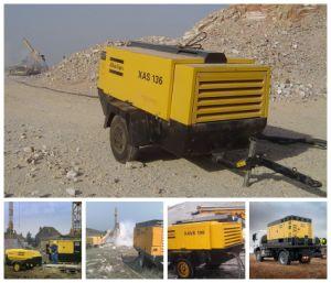 Xas 136 Atlas Copco Portable Diesel Air Compressor pictures & photos