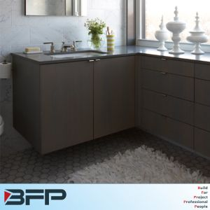 Elegant Corner Bathroom Cabinet for Small Shower Room pictures & photos