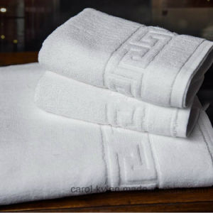 Dobby Border Hotel Textile Hotel Towel pictures & photos