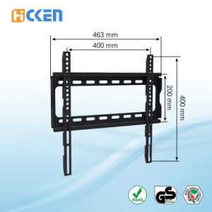 32-55 Inch LCD LED and Plasma Telescoping Fixed TV Mount pictures & photos