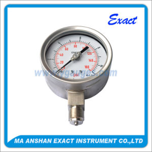 All Stainless Steel Pressure Gauge-High Accuracy Pressure Gauge pictures & photos