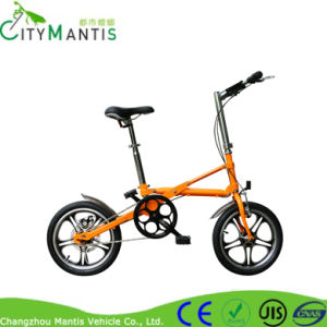 Pneumatic Tire Disc Brakes Bike 14 Inch Folding Bike pictures & photos