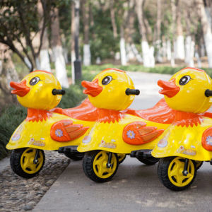 Electric Ride on Children′s Toy Car - Yellow Duck pictures & photos