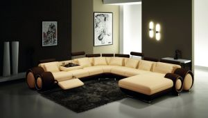 Modern Sofa with Corner Living Room Sofa U Shape Sectional pictures & photos