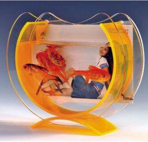 Customize at-108 Clear Desktop Acrylic Fish Tank pictures & photos