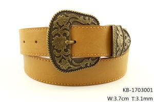 New Fashion Women PU Flat Belt (KB-1703001) pictures & photos