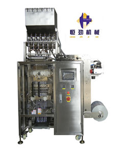 Multi Lines Icelollies Packing Machine