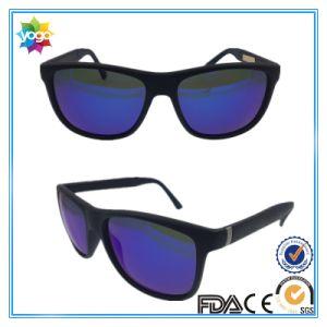 High Quality Black Color Acetate Sun Glasses Factory, Fashion Sunglasses Man