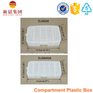 5 Vertical Compartment Plastic Storage Box pictures & photos