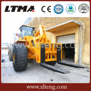China 40 Ton Forklift Loader to Handle Stone pictures & photos