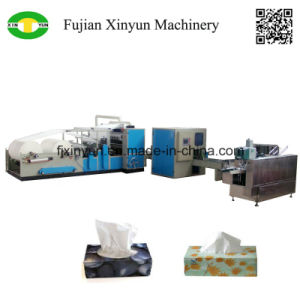 High Quality Automatic V Fold Facial Tissue Paper Making Machine Price pictures & photos