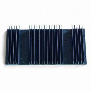 Red Anodized Aluminium Alloy for Home Application Heatsink pictures & photos