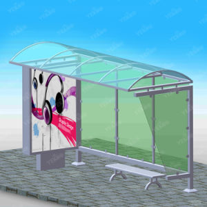 China Bus Shelter Manufacturersm Newest Bus Shelter Design pictures & photos