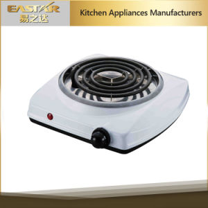 Good Price Single Spiral Hot Plate Es-101sw pictures & photos