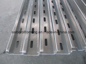 Guide Rail Roll Forming Machine (Double Row) pictures & photos