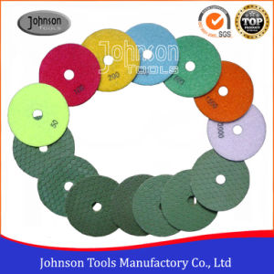 100mm Diamond Dry Polishing Pad for Marble pictures & photos