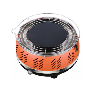 Portable Smokeless Charcoal Grill Barbecue with Carry Bag pictures & photos