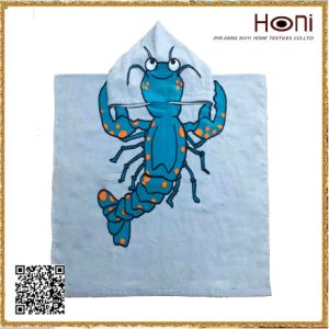 D-040 High Quality Kids Cartoon Hooded Towel