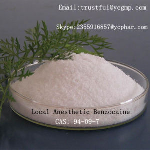 99% White Powder Healthy Local Anesthetic Benzocainecas: 94-09-7for Relieve Pain pictures & photos