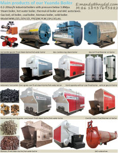 Natural Gas, LNG, CNG, LPG Fired Boiler pictures & photos