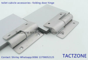 Best Sales Toilet Partition Cubicle Accessories 304 Steel Door Hinge pictures & photos