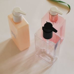 250ml Square Pet Plastic Bottle for Cosmetic Lotion Packing pictures & photos