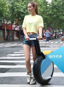 Popular 17 Inch Self Balance One Wheel Electric Motorcycle Scooter pictures & photos