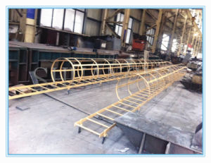Steel Structure Ladder for Fabrication Crane Equipment pictures & photos