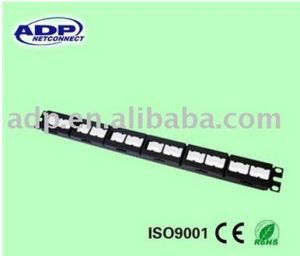 24-Port Patch Panel (module) pictures & photos