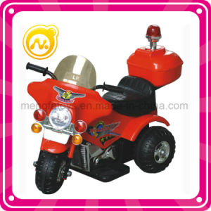 Remote Control Car Plastic Police Electric Motorcycle Toy pictures & photos