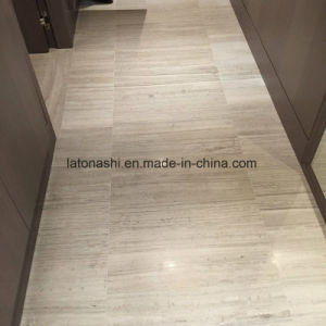 Light Gray Wood Marble Slabs for Floor and Wall pictures & photos