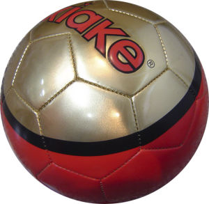 3# PVC PU Iaminatde Soccer Ball pictures & photos