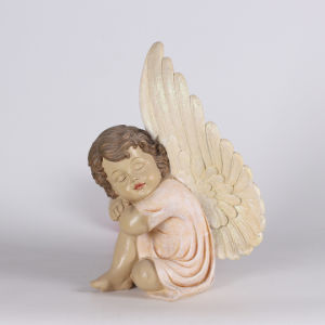 Custom Lovely Resin Baby Angel Statue as Home Deco pictures & photos