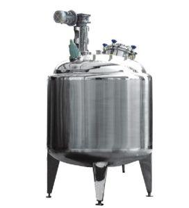 Stainless Steel Jacked Cooking Tank for Herbal Juice