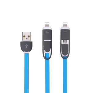 Factory Wholesale 2 in 1 Digital Data Cable Auto Data Link Cable Convenient Data Cable for Mobile Phone