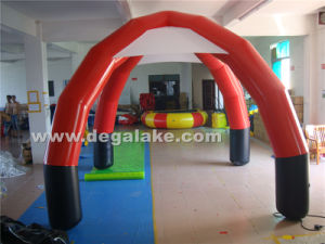 6m Inflatable Airtight Tent with 4 Foot for Advertising pictures & photos