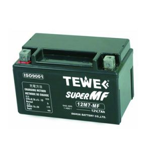 12V 7ah Sealed Maintenance Free Motorcycle Battery pictures & photos