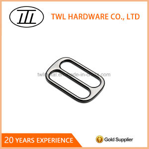 Hot Sale Metal Tri-Glide Slide Square Ring Buckle pictures & photos