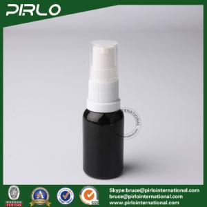 15ml Black Lightproof Glass Spray Bottles with White Fine Pump Sprayer pictures & photos