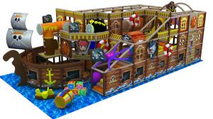 Children Indoor Soft Playground Equipment with Pirates Ship Series (YL-B028) pictures & photos