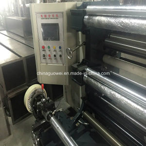 PLC Controlled Slitting Machine for Plastic Film in 200m/Min pictures & photos
