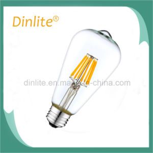 2 Filament Decorative ST64 2W LED filament bulb pictures & photos